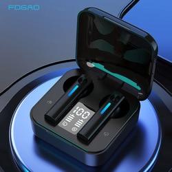 Bluetooth 5.0 casque sans fil TWS Mini sans fil Bluetooth écouteur avec micro sport casques tactile contrôle téléphone appel écouteurs