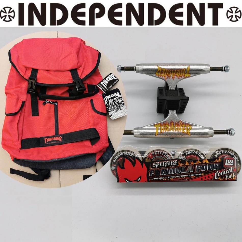 136mm 149mm Independent Skateboard Trucks Thrasher Skateboard Bag Spitfire Wheels Good Quality Skateboard Dish