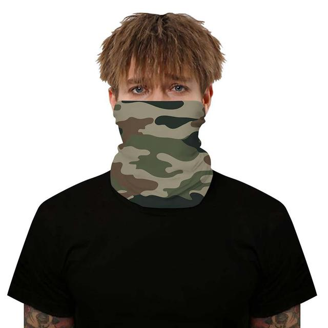 Outdoor Solid Color Multi-function Seamless Quick-drying Visor Anti-sweat Belt Hair Bandana Camera Protective 1