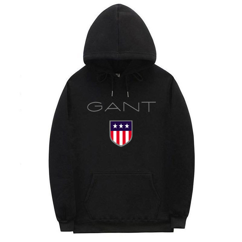 Gant Hoodie Casual Sports Fashion Large Size Men's Printed Pullover Hoodie Men And Women Coat