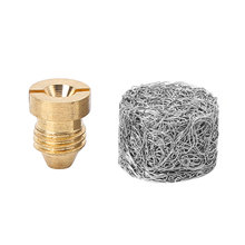 Universal 1/1.1mm Car Foam Wash High Pressure Washer Thread Foam Cannon Orifice Nozzle Tips and Foam Maker for Snow Foam Lance
