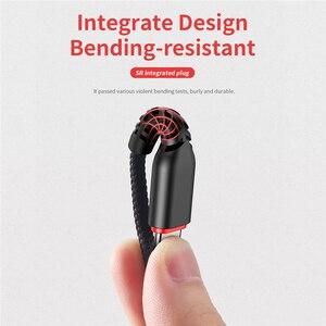 Image 3 - Kaya Hi Tensile Metal örgülü 6 in 1 şarj kablosu 2M aydınlatma C tipi mikro hızlı şarj kablosu iPhone için X 8 7 6 Xiaomi Samsung