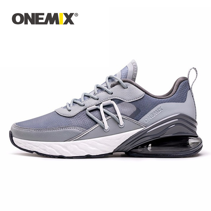 ONEMIX Men Running Shoes Big Size 2019 Summer Breathable Damping Air Cushion Male Tennis Shoes Fashion Outdoor Trainer Sneakers