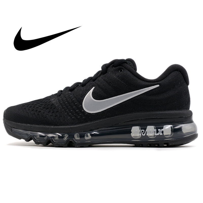 Original Authentic Nike Air Max 2017 Men's Running Shoes Comfortable Breathable Sport Outdoor Sneakers Designer Footwear 849559