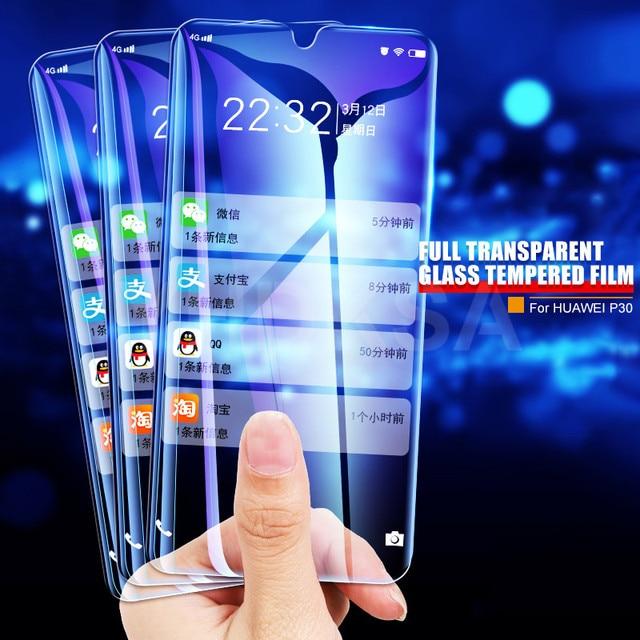 9H Tempered Glass For Huawei Y5P Y6P Y6S Y8S Y8P Y9S Y5 Lite Screen Protector Huawei Y5 Y6 Y9 Prime 2018 2019 Protective Glass 3