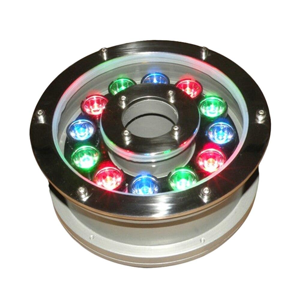 6 ip68 levou fonte de luz 12 18 w piscina conduziu a luz ac dc12 24v