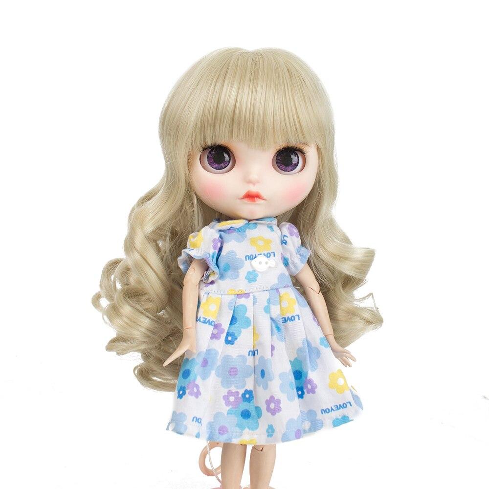 Hot Blyth doll wigs  Air bangs Short Black hair suitable for accessories 25cm 9-10inch