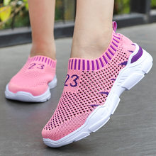 Spring Summer Kids Shoes Breathable Casual Shoes For Boys And Girls Light-weight Sport Shoes Kids Sneakers(China)