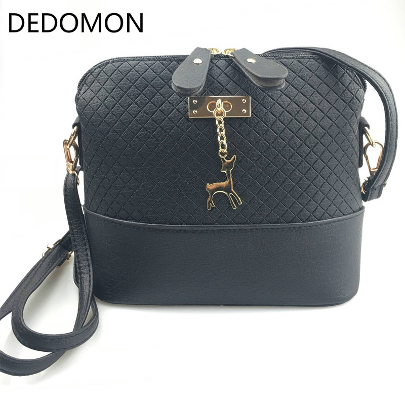 Messenger-Bags Bag Women Fashion Shell with Deer Toy Handbag New Gifts Hot-Sale