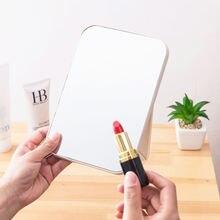 Портативное складное зеркало для макияжа 1 шт Большое Квадратное