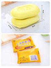 1 pc shanghai sabão de enxofre eczema parar prurido acne tratamento barato dermatite antifúngica limpeza facial soap45 #