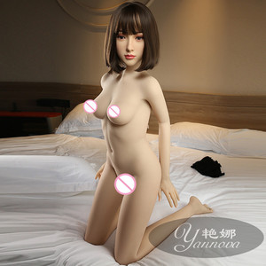 Image 2 - 2020new 157cm real silicone sex doll realistic vaginal oral cat ass TPE and metal skeleton Japan sexy beauty