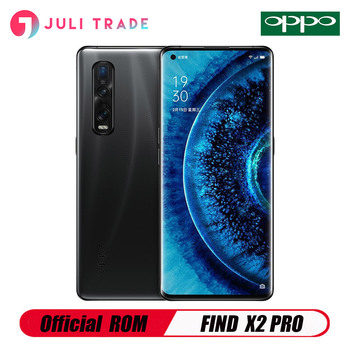 """OPPO Find X2 PRO 5G Mobile Phone Snapdragon 865 Android 10.0 6.7"""" 120HZ 3168X1440 12GB 256GB 48.0MP 65W Charger 48MP Camera"""