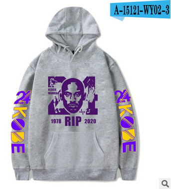 Black Manba Hoodies Sweatshirts Adults/children Size Men Women High Quality Rip 24 8 Kobe Sweatshirts Autumn Winter Kids Hoodie