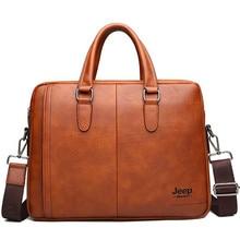 Men's Business Leather Briefcase Bags Male Messenger Shoulder Portfolio Laptop Men Bag Case Office Handbag Bolso Hombre Maletas