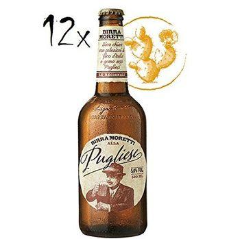 12 Birra Moretti alla PuglieseLager Beer 5,6% Vol. 50 cl