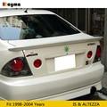 TRD Стиль Стекловолокно Задний багажник губ для Toyota Altezza AS200 AS300 RS200 1998-2004 FRP спойлер крыло для LEXUS IS IS200 IS300