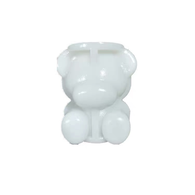 3D Silicone Ice Bear Mold Chocolate Cake Decoration Tools Kitchen Baking Accessories
