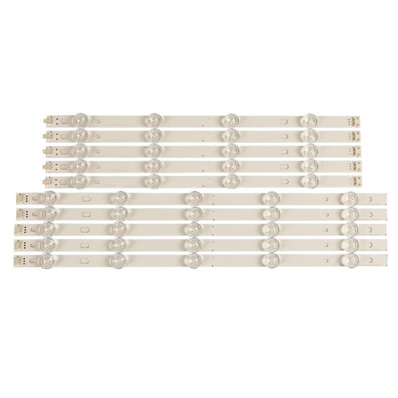 Image 5 - LED Backlight strip 9 lamp For LG INNOTEK POLA2.0 Pola 2.0 42 TV 42LN543V 42LN5300 42LN5406 ZA 42LN5300 42LN5750LED Bar Lights   -