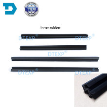 цена на 4 PIECES Window Glass Rubber SET for Lancer Ex Sealing Rubber for Lancer Gt Glass Protect Rubber Inner and Outside for Evo 10 X