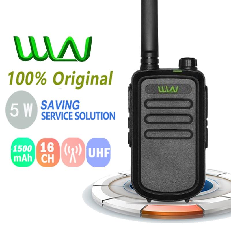 100% оригинал WLN KD-C10 Uhf 400-470MHz Microfono Walkie Talkie радио Comunicador Ham радио сканер Walky Talky профессиональный