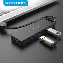 Vention USB Hub 3.0 Multi Séparateur USB 4 Ports USB 3.0 2.0 avec Micro de Puissance de Charge pour Lenovo Xiaomi Macbook Pro PC Hub USB 3 0