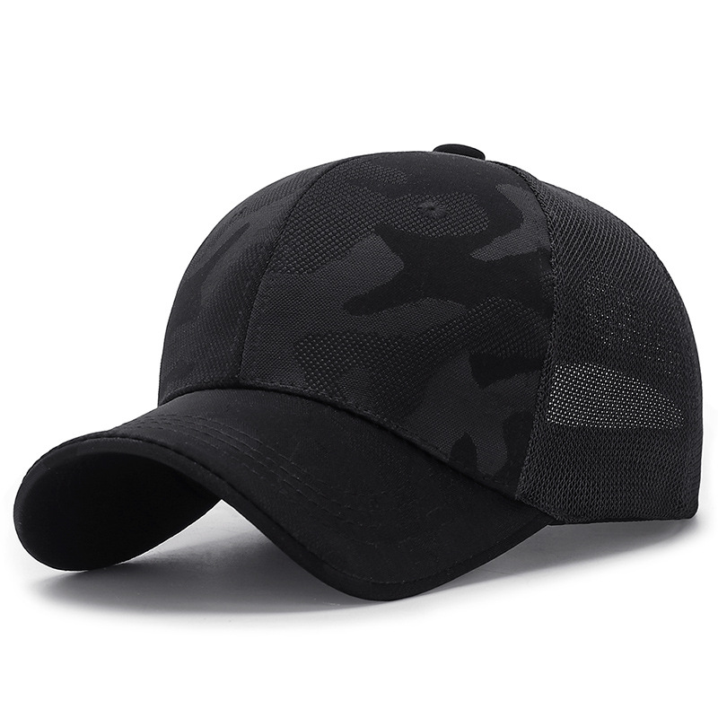 Unisex Mesh Baseball Cap Summer Outdoor Cap Breathable Adjustable Sun Hat Men Snapback Hats Camouflage Snapback Caps