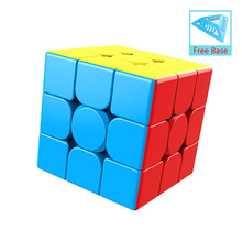 Dropshipping MoYu 3x3x3 Meilong Games Magic Cube Stickerless Cube Puzzle Professional Speed Cubes Educational Toys For Students