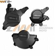 Мотоцикл крышка двигателя Защита Чехол для ГБ гоночный чехол для HONDA CBR600RR 2007- 08 09, 10, 11, 12, 13, 14, 15 лет