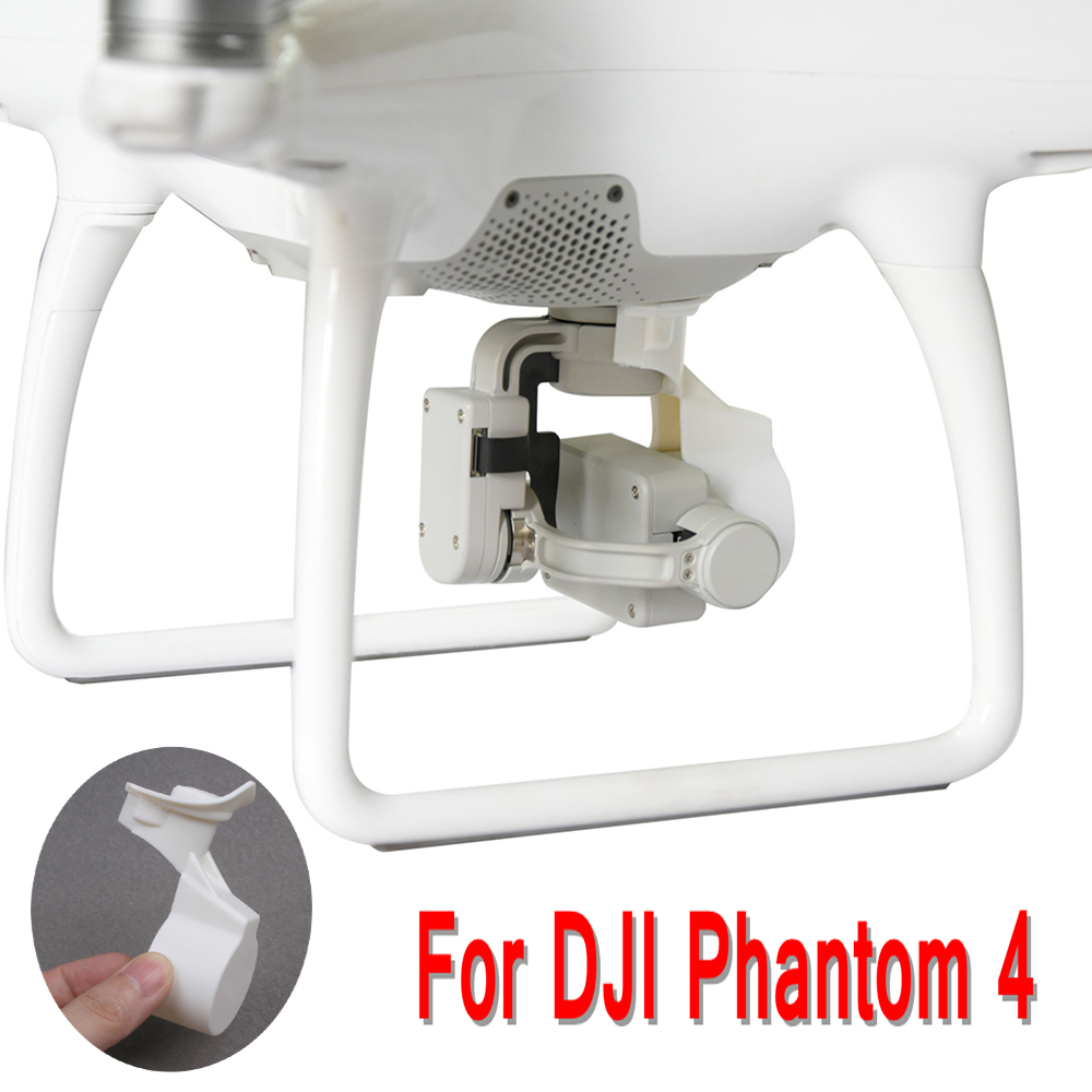 For DJI Phantom 4 Lens Hood Cover Cap Lock Guard Camera Integrated Lens Cover Accessories