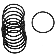 10 pieces 3 mm x 56 rubber seal Oilfilter O rings gasketet black