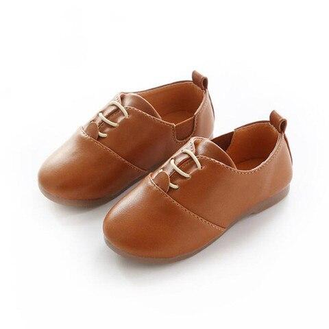 primavera criancas pu sapatos de couro meninos mocassins tamanho 21 30 da crianca do bebe