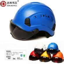Safety-Helmet Helmets-Working Hard-Hat Work-Cap Rescue Dark-Goggles Protective Outdoor-Climbing