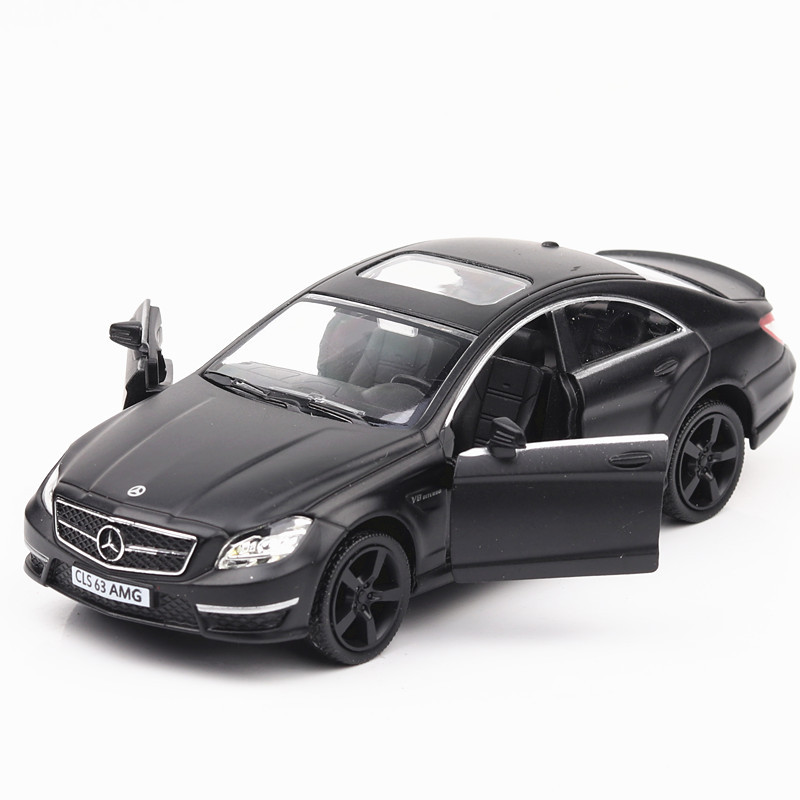 1:36 Mercedes-Benz Class CLS Diecasts & Toy Vehicles Alloy Car Model Pull Back Collection Car Toys For Children Kids Gifts