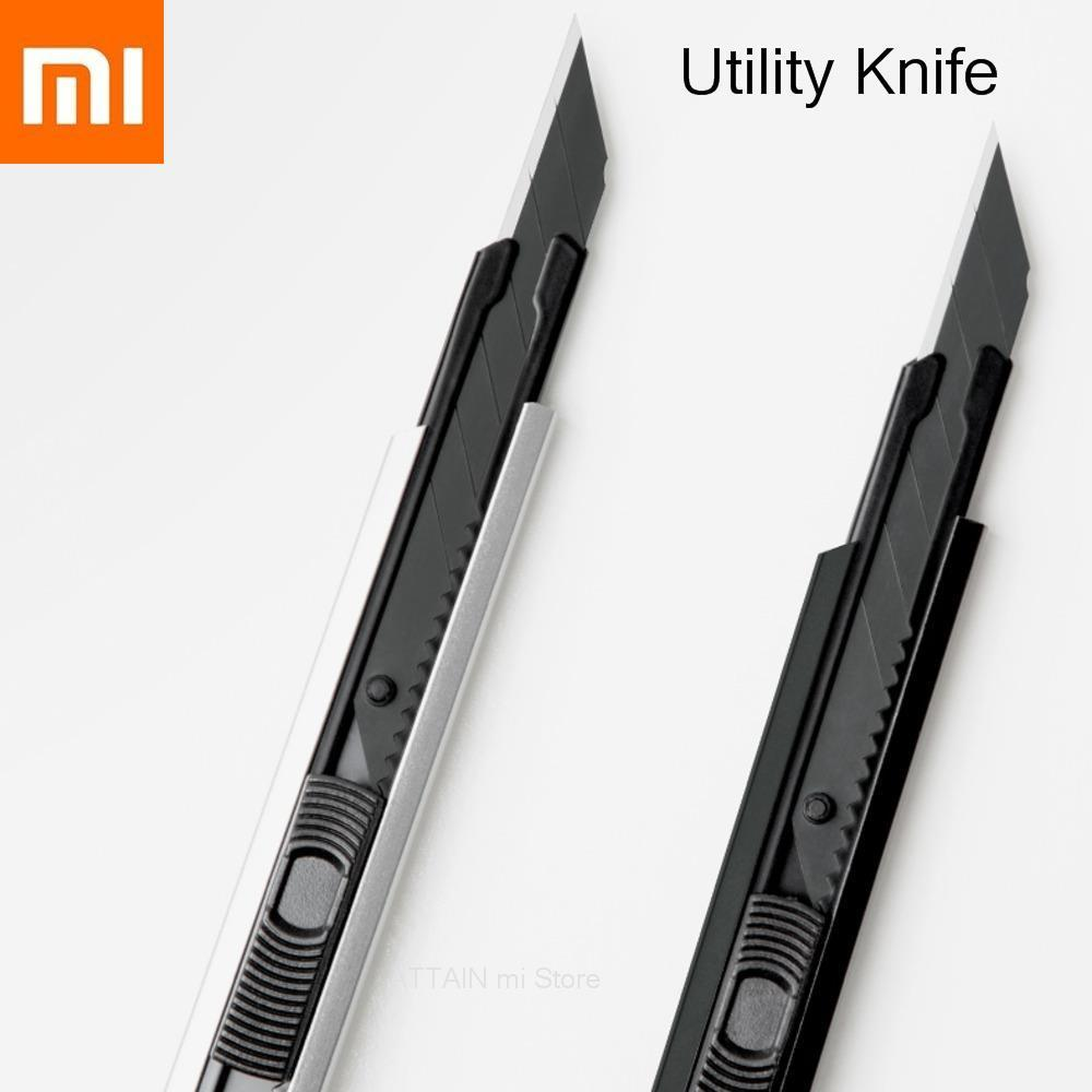 Original Xiaomi Fizz Utility Knife Design 30degree Sharp Angle Cutting With A Folding Knife FZ215001-H Metal Blade Self-locking