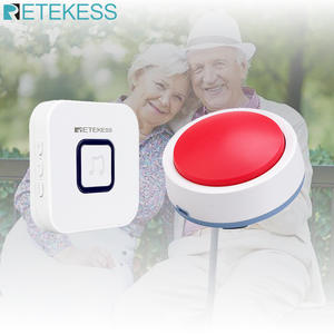 Retekess TH003 + TH004 Wireless Calling System Emergency Pager for the eldly Nursing home Clinic Hospital Elder Care System