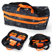 Kids Military Toy Bag Tactical Equipment Gun Accessories EVA Bullet Storage Bags for Nerf