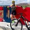 20-kafitt-19d-gel almofada ciclismo mulher triathlon ciclismo camisa de uma peça vestido pequeno macaco manga curta terno competição novo 14