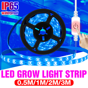 Full Spectrum 5V LED Grow Light Strip UV Lamps for Plants Waterproof Phyto Lamp Blue Tape For Greenhouse Grow Tent Hydroponic 5m led grow light strip full spectrum uv lamps for plants waterproof phyto lamp red bluetape for greenhouse grow tent hydroponic