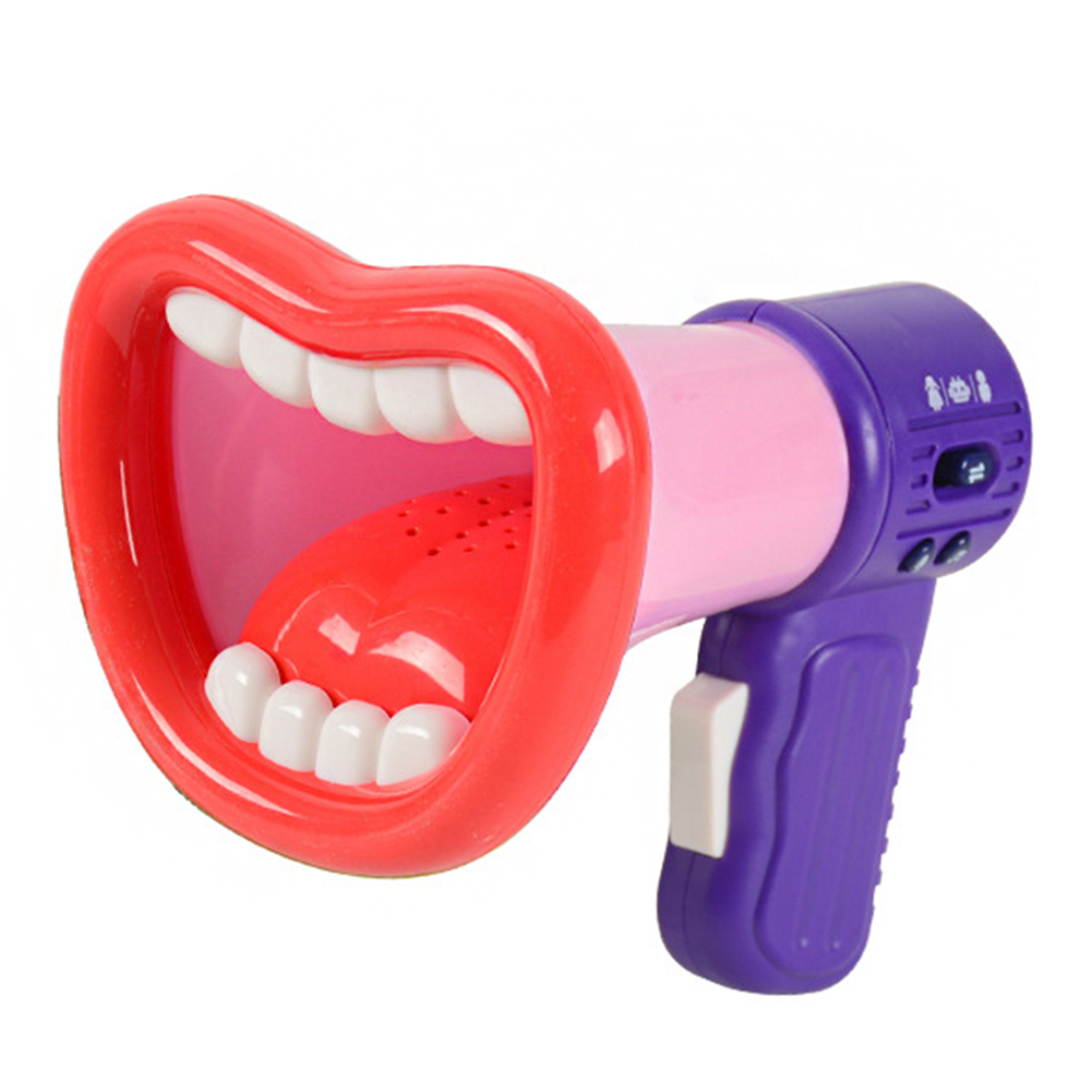 Adjustable Funny Voice Changing Loudspeaker Children Music Mini Horn Battery Powered Electric Gifts Easy Apply Recording Kids