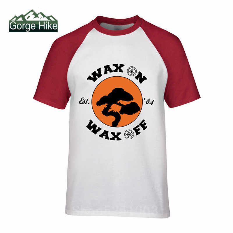 Karate Kid Wachs weg T-shirt Cobra Kai Streik Erste Strike Hard Keine Barmherzigkeit HD Logo T-Shirt Kurzen Ärmeln Bonsai baum T Hemd 3xl