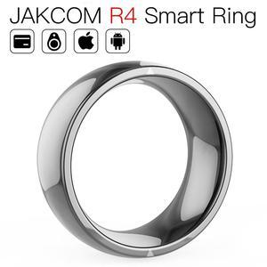 JAKCOM R4 Smart Ring better than step fitness bandas resistencia band 115plus blood oxygen sensor aerobic light led(China)