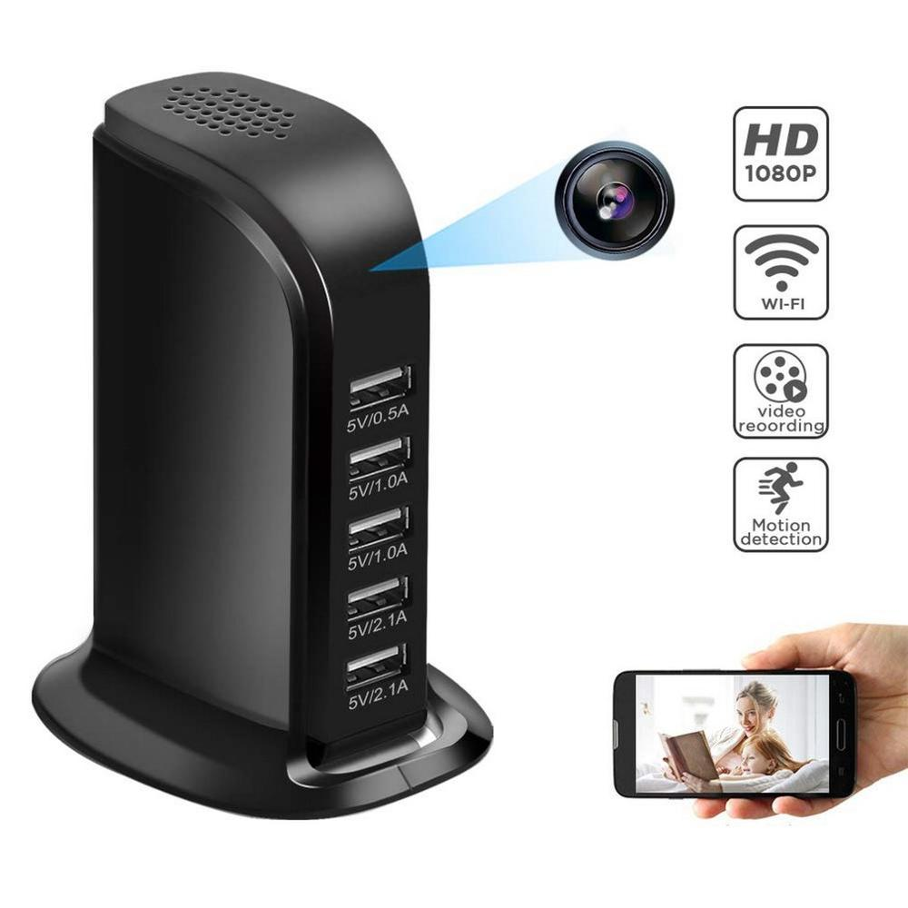 Mini 4K WIFI HD 1080P IP Camera Wireless Security Camera USB Wall Charger Baby Camera Monitor Camcorder for Smart Home