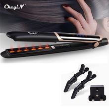 CkeyiN Professional Hair Straightener Curler Hair