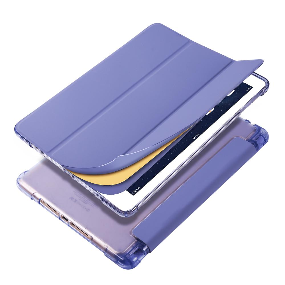 lavender Khaki Case for iPad Pro 11 2020 A2228 A2231 A2068 A2230 Case Multi Fold PU Leather Smart