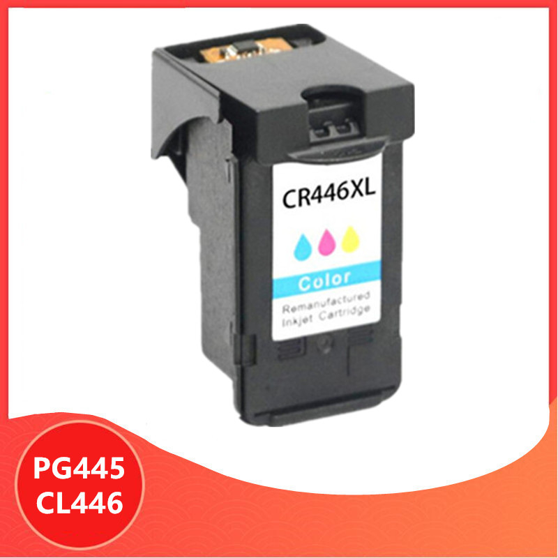Color PG-445 PG445 CL-446 XL Ink Cartridge for <font><b>Canon</b></font> PG 445 CL 446 for <font><b>Canon</b></font> <font><b>PIXMA</b></font> MX494 MG2440 MG2940 MG2540 <font><b>MG2540S</b></font> IP2840 image