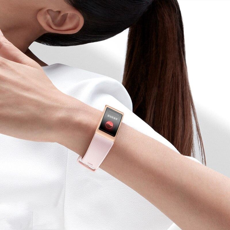 Image 2 - Original Huawei Band 4 Pro Smart Wristband Band Activity Heart  Rate Fintess Tracker GPS Monitor SpO2 Blood Oxygen Sport BraceletSmart  Wristbands