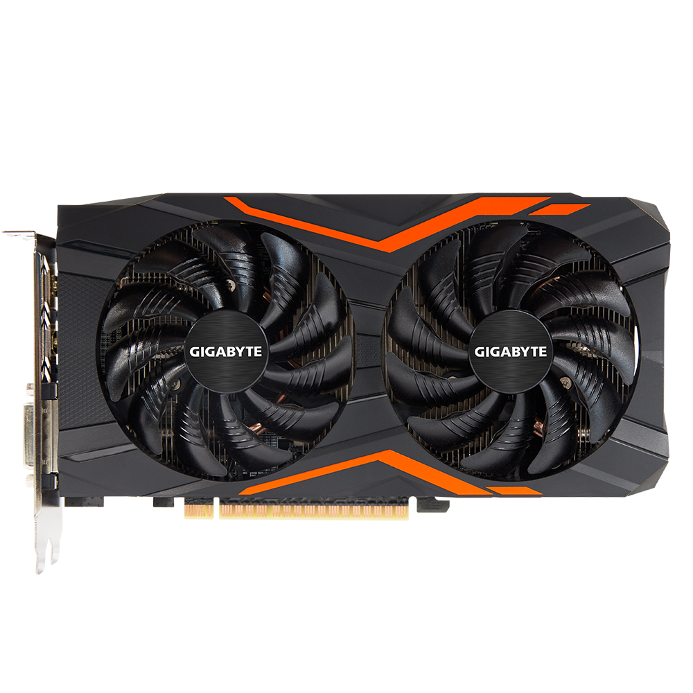 Used Original GIGABYTE GeForce GTX 1050 Ti 4G G1 Gaming Graphics Cards  With Led Plate