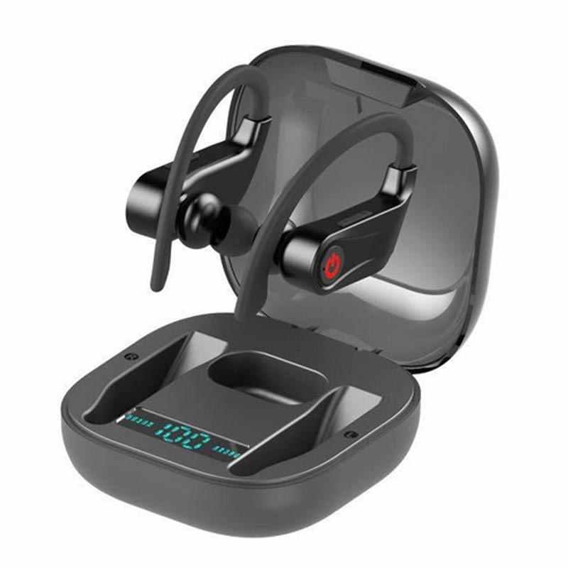 Power Pro-auriculares HBQ Q62 con Bluetooth, auriculares inalámbricos con gran potencia, auriculares de graves, tecnología TWS, auriculares estéreo con bluetooth