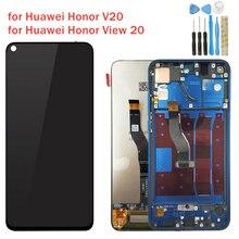 Pour Huawei Honor View 20/ Honor V20 écran LCD avec cadre écran tactile numériseur assemblée LCD affichage 10 pièces de réparation tactile